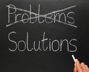 Solutions instead of problems