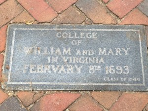 College of William and Mary (Est. 1693)