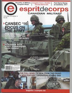 Esprit de Corps Magazine Military Career Transition May 2016