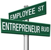 Employee St Entrpreneur Blvd street signs