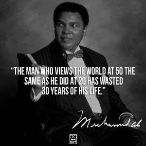 Muhammad Ali on Maturity