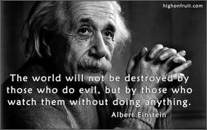 Values related quote by Albert Einstein