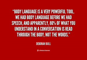 Body Language Quote