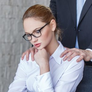 Sexual harassment includes shoulder rub