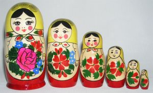 set of nested dolls