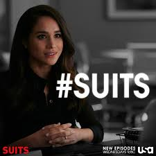 Career woman Megan Markel staring in Suits