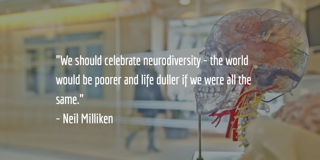 neurodiversity quote by neil milliken