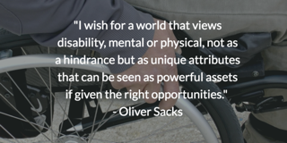 neurodiversity quote dr oliver sacks