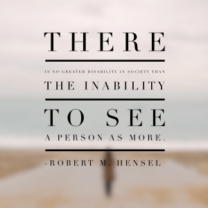 Visible Disabilities … the unseen problems in the workplace