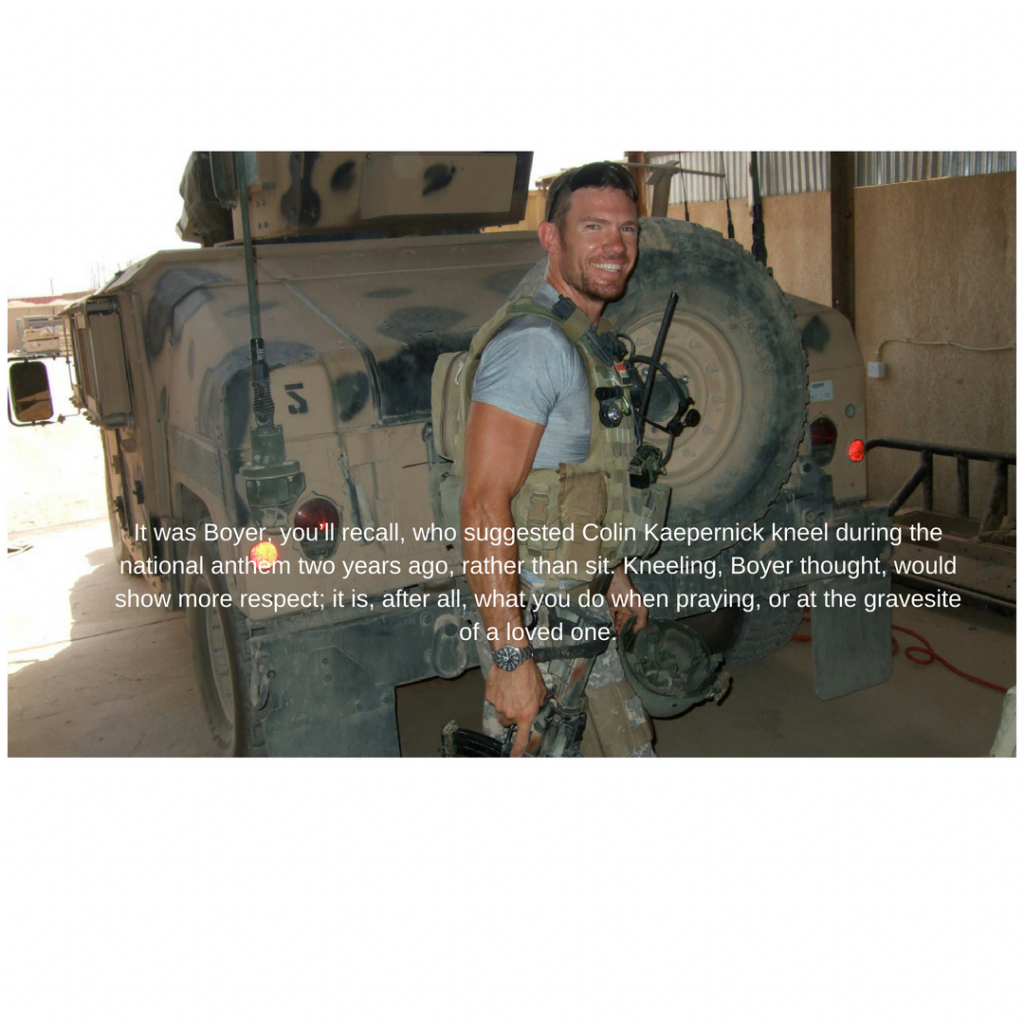 Nate Boyer weighs in on racism tearing apart the US