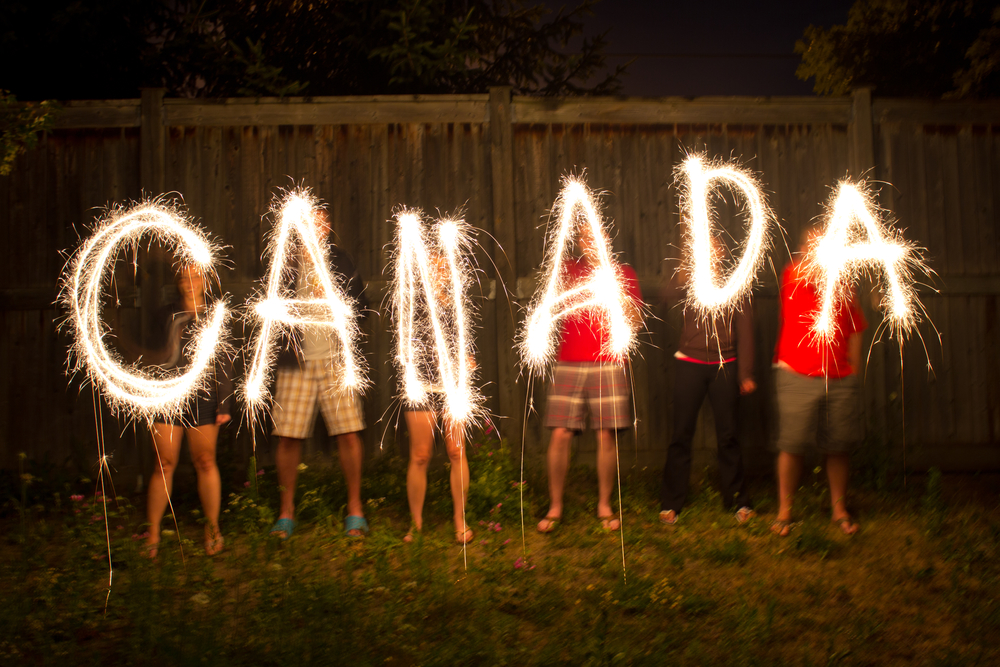 Canada Day and social media posts