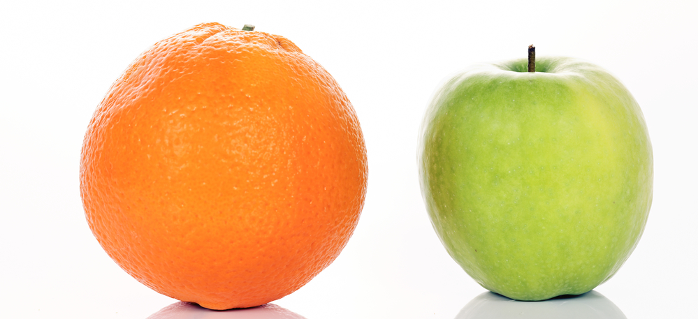 comparing mental health practitioners - like apples and oranges