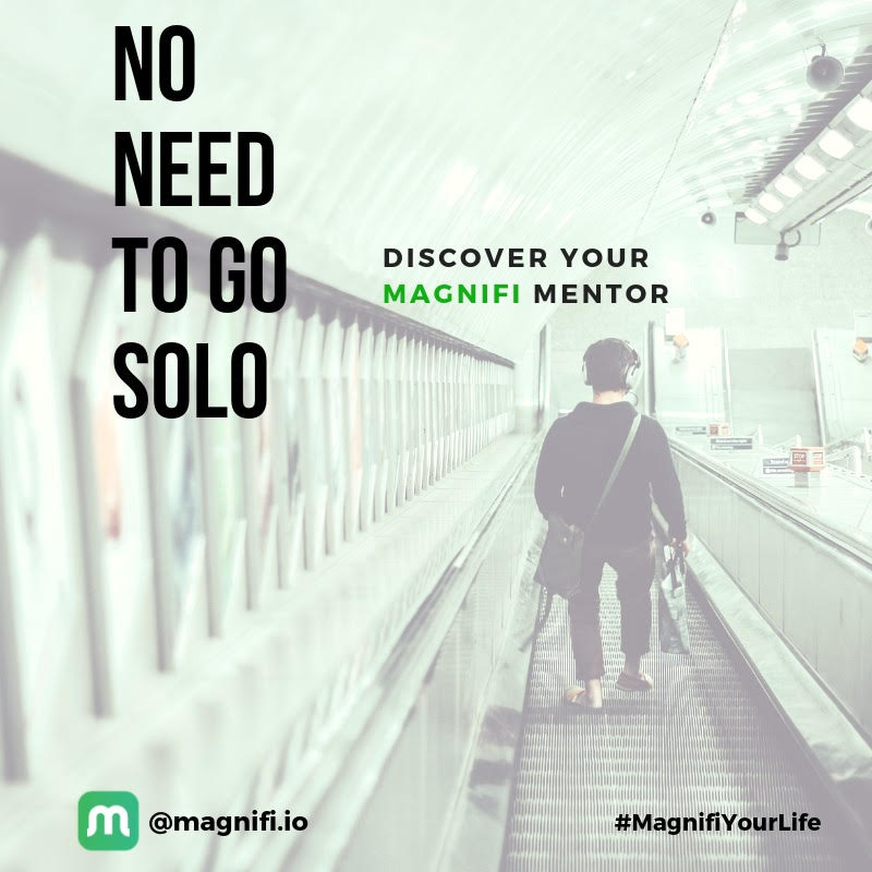 use mentorship, no need to go solo