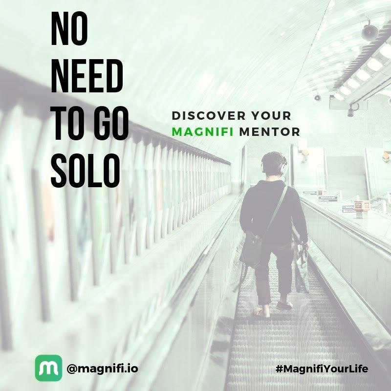 use mentorship, no need to go solo