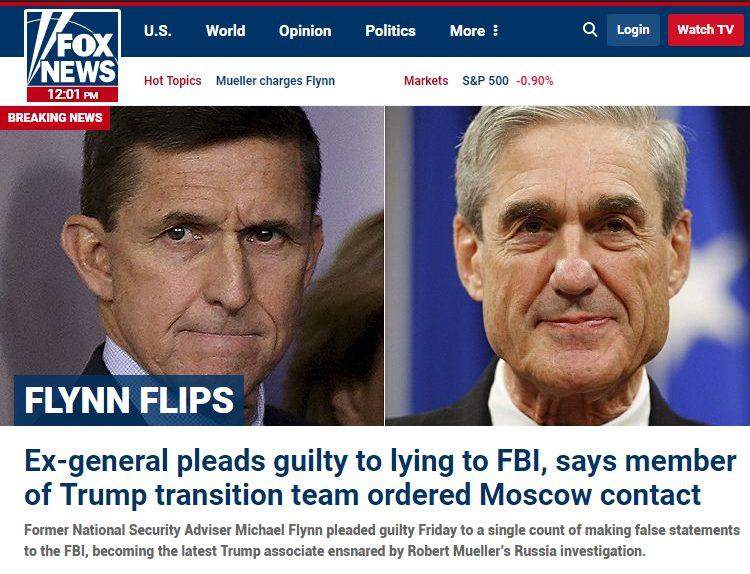 Michael Flynn was an insider threat
