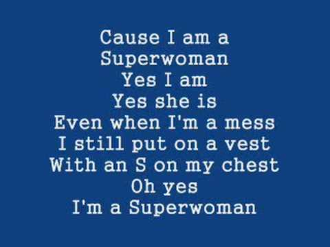 Alicia Keys sings about Superwoman Syndrome