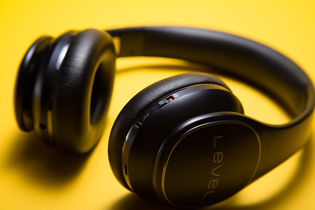 many people wear headphones to create quiet environment for work