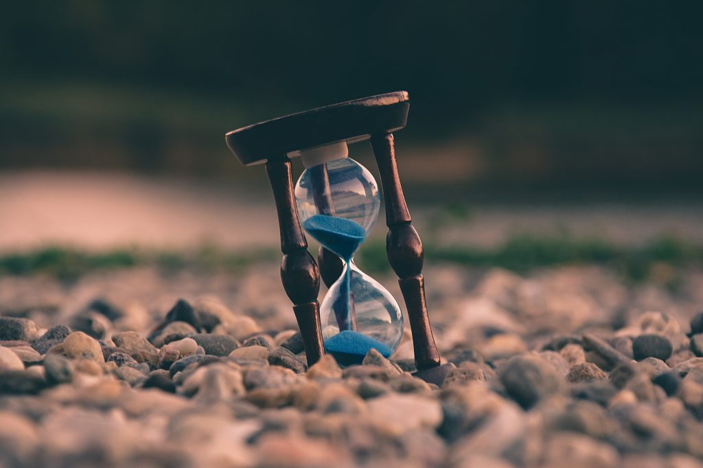 time leakage, like sand in hourglass, happens when we don't track time spent