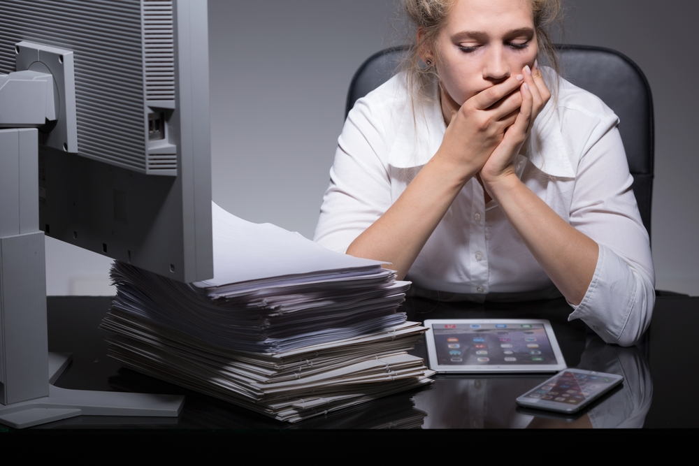 workaholic employees may be overworked due to unfair expectations