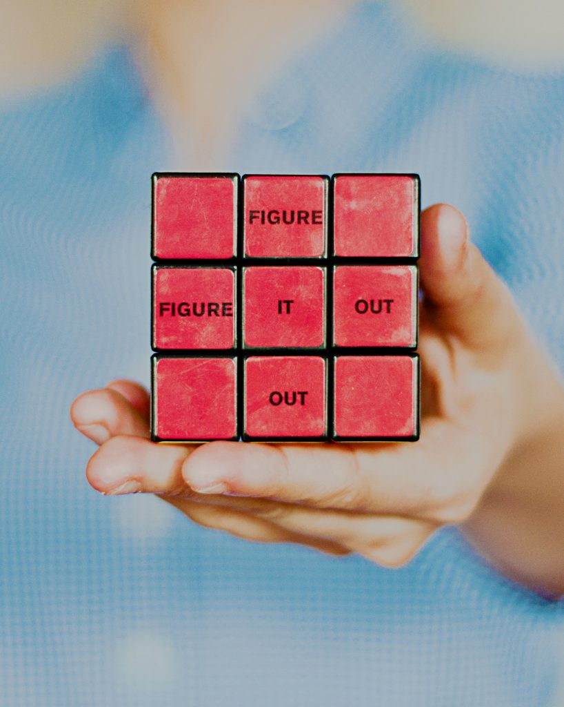 creativity and constraints via rubics cube