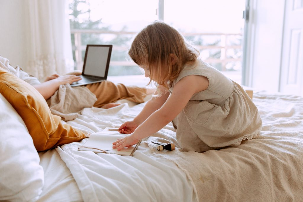 During the pandemic underemployment has advantages while parenting