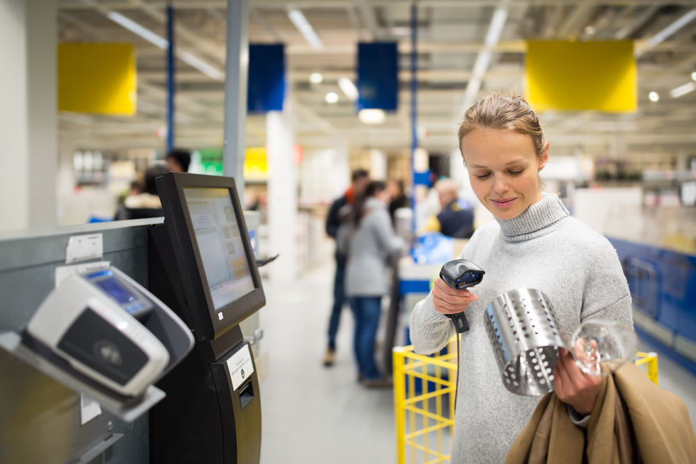 automation and self-checkout at the store