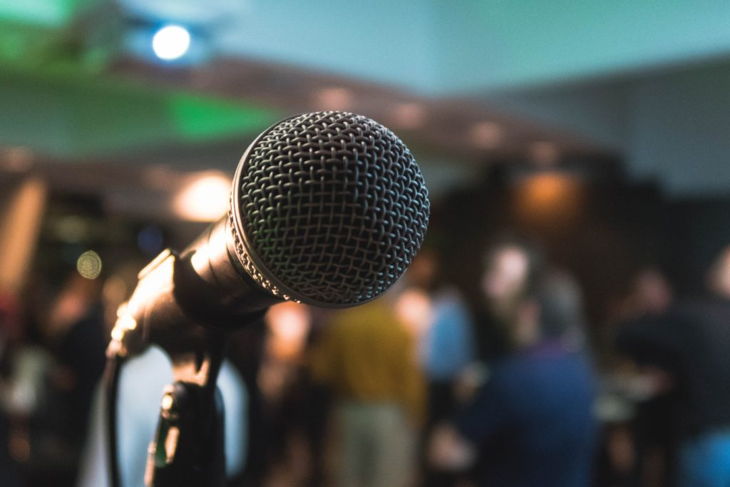 Public speaking can be part of a portfolio career