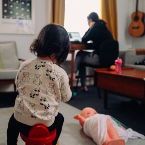 remote and hybrid work can help parents