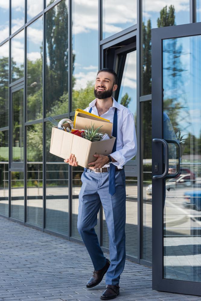 pandemic flux makes man quit job